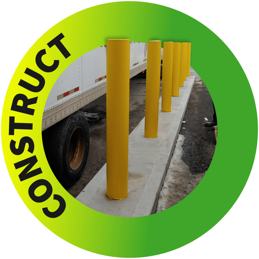 Bollards Toronto - Masonry and Construction Services Near Me - Nusens Niche Contracting Services - Construction, Protection, Cleaning and Repair