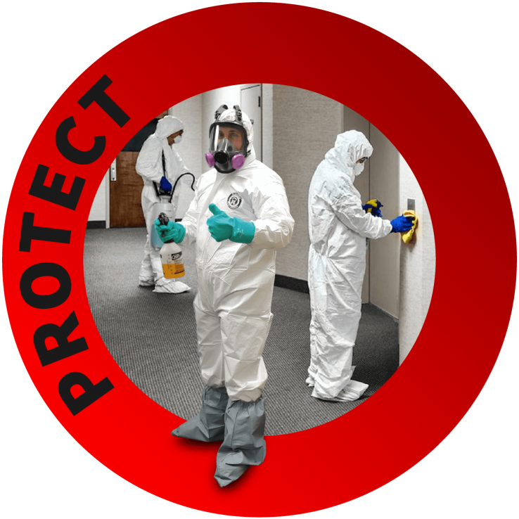 Disinfection Services in Toronto - covid-19 disinfection services - sanitization companies - Protection services - Nusens Niche Contracting Services in GTA Toronto, Halifax, Calgary and Vancouver